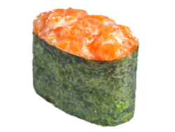 Спайси суши с лососем
