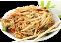 Пшеничная с овощами (удон)