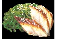 Чука салат с угрём